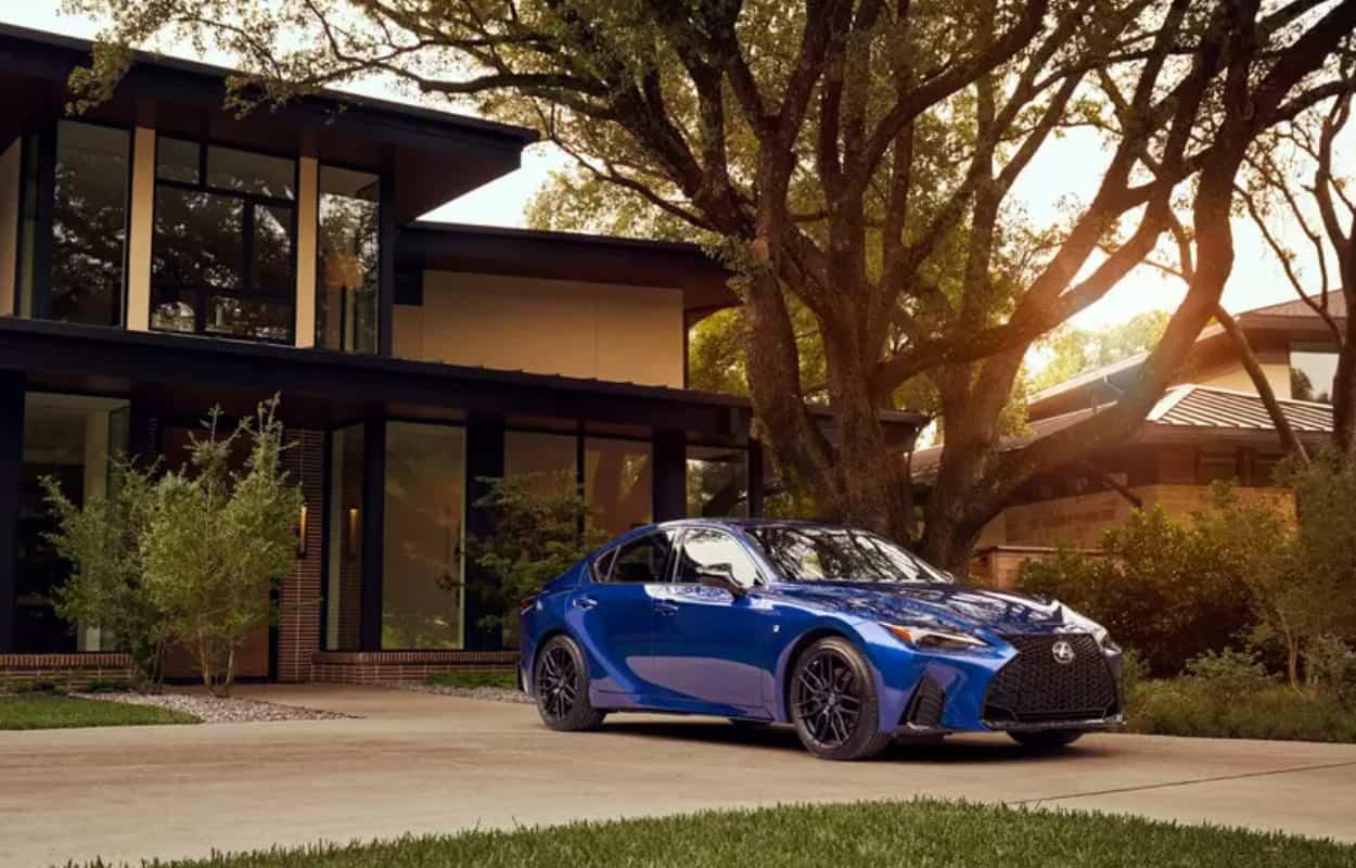 2021 Lexus IS update Price