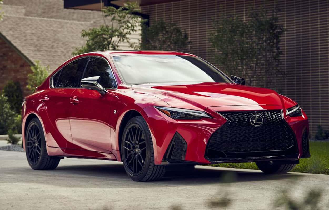 2021 Lexus IS price