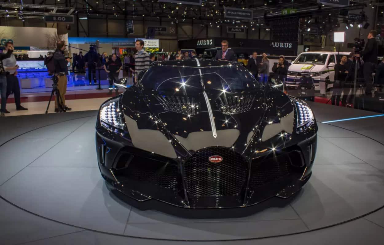 Bugatti La Voiture Noire world's most expensive car
